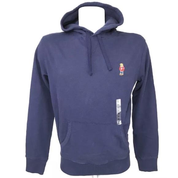 Ralph Lauren Polo Bear Hoodie Pullover Sweatshirt
